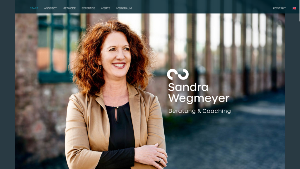 Sandra Wegmeyer – Umsetzung in WordPress